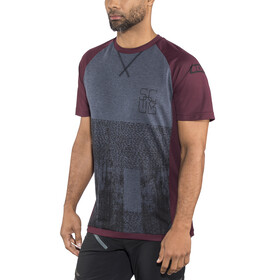 ION Scrub_Amp SS Tee Men vinaceous